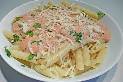 Spaghetti mit italienischer Tomatensauce 5