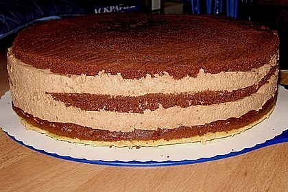 Schoko - Mandel - Sahne Torte 7