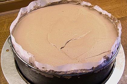 Schoko - Mandel - Sahne Torte 8