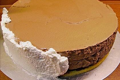 Schoko - Mandel - Sahne Torte 5