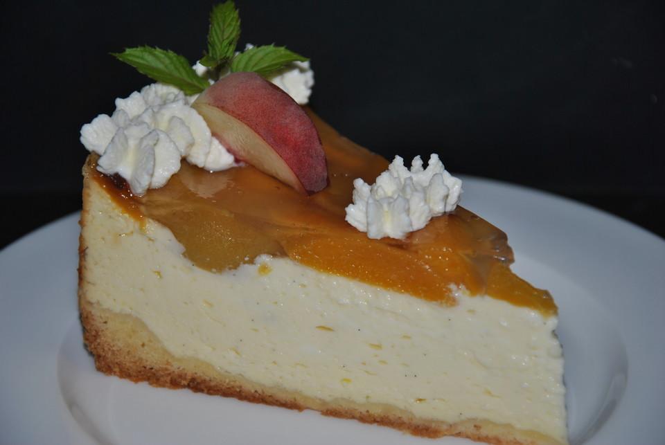 Pfirsich Schmand Kuchen Von Seelenschein Chefkoch De