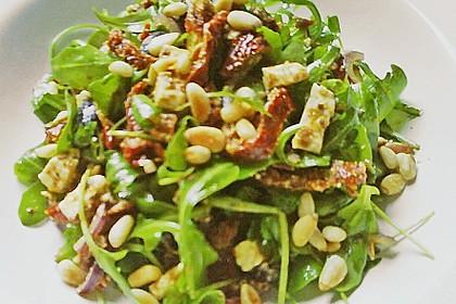 Antipasti - Salat mit Schafskäse und Pesto - Dressing 11