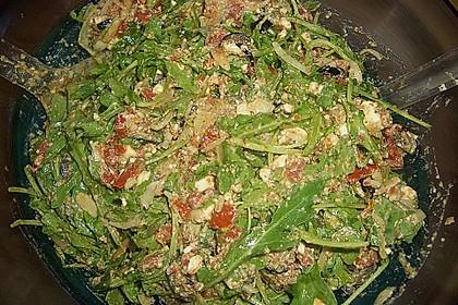 Antipasti - Salat mit Schafskäse und Pesto - Dressing 14