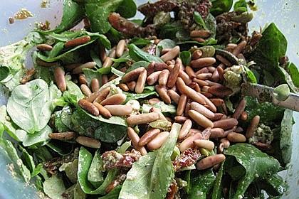 Antipasti - Salat mit Schafskäse und Pesto - Dressing 6