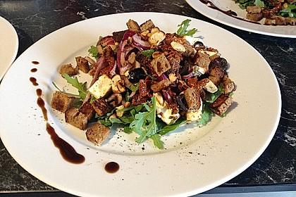 Antipasti - Salat mit Schafskäse und Pesto - Dressing 2