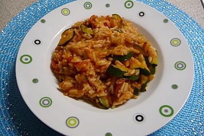 Zucchini - Reis - Pfanne a la Helene 17