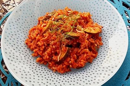 Zucchini - Reis - Pfanne a la Helene 4