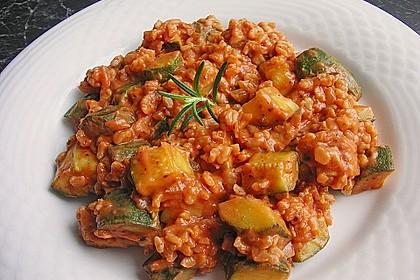 Zucchini - Reis - Pfanne a la Helene 2