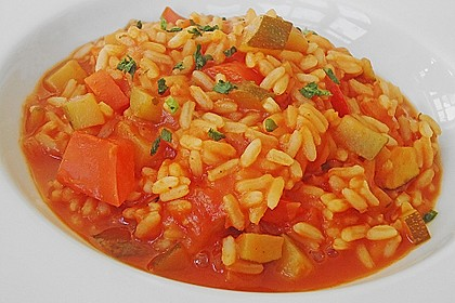 Zucchini - Reis - Pfanne a la Helene 9
