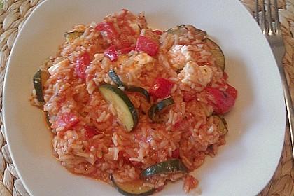 Zucchini - Reis - Pfanne a la Helene 38