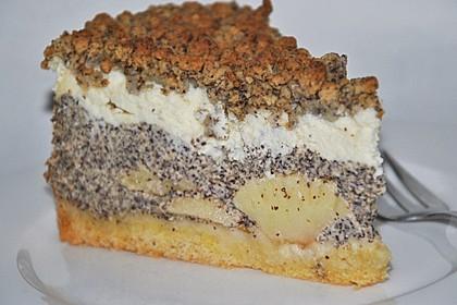 Mohn - Apfel - Quark - Streuselkuchen nach Urmeli (Bild)