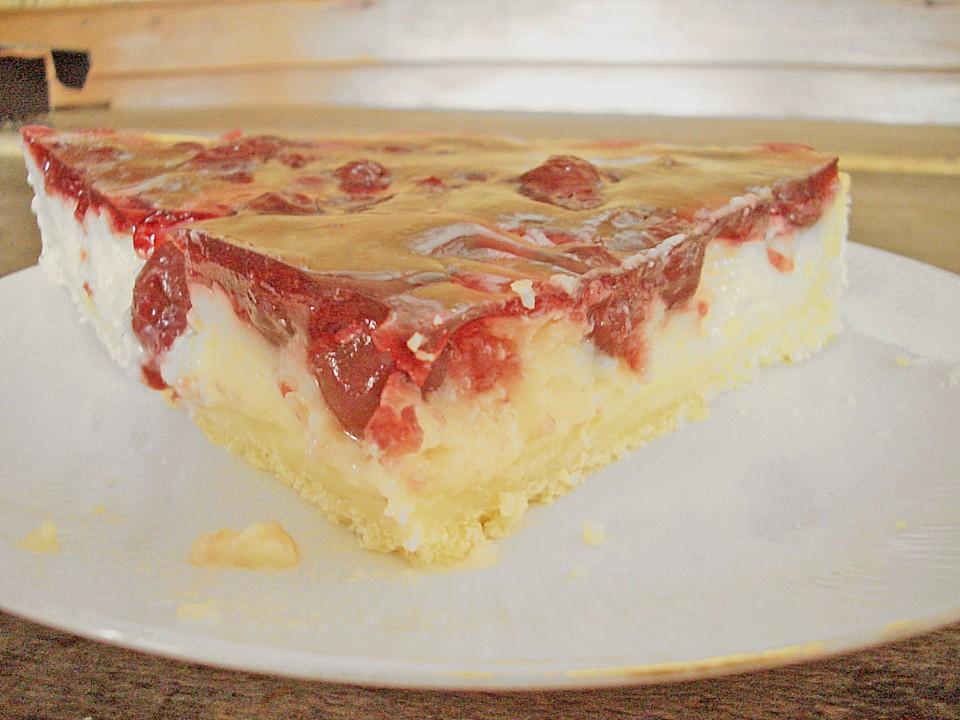 Kirsch Pudding Torte Kirschkuchen Von Milka2304 Chefkoch De
