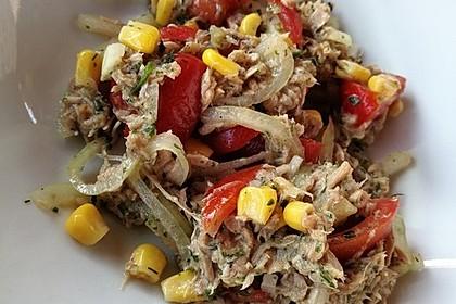 Illes leichter und leckerer Thunfisch - Tomaten - Salat 17