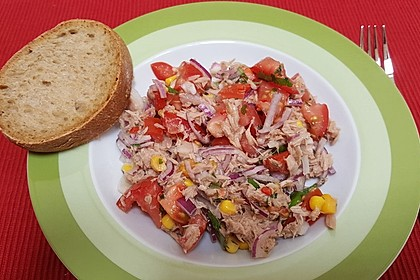 Illes leichter und leckerer Thunfisch - Tomaten - Salat 8