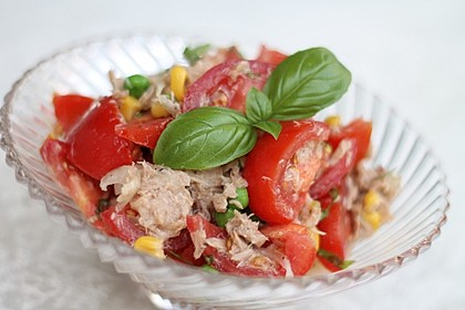 Illes leichter und leckerer Thunfisch - Tomaten - Salat 3