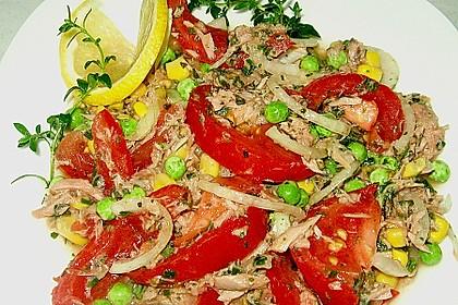 Illes leichter und leckerer Thunfisch - Tomaten - Salat 10