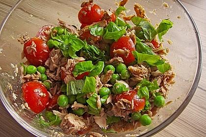 Illes leichter und leckerer Thunfisch - Tomaten - Salat 14