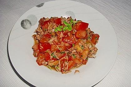 Illes leichter und leckerer Thunfisch - Tomaten - Salat 32