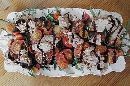 Illes leichter und leckerer Thunfisch - Tomaten - Salat 16