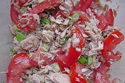 Illes leichter und leckerer Thunfisch - Tomaten - Salat 26