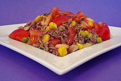 Illes leichter und leckerer Thunfisch - Tomaten - Salat 9
