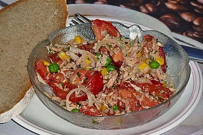Illes leichter und leckerer Thunfisch - Tomaten - Salat 25