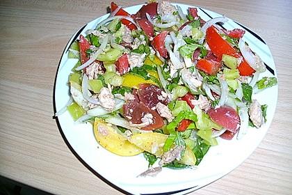 Illes leichter und leckerer Thunfisch - Tomaten - Salat 31