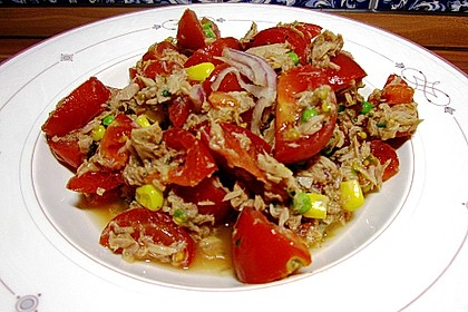 Illes leichter und leckerer Thunfisch - Tomaten - Salat 19