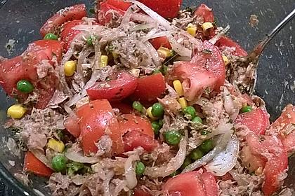 Illes leichter und leckerer Thunfisch - Tomaten - Salat 28
