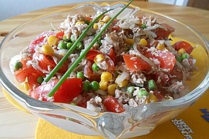 Illes leichter und leckerer Thunfisch - Tomaten - Salat 13