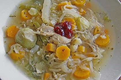Gemüse - Huhn - Eintopf