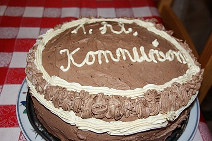 Festliche Schoko - Buttercreme - Torte 8