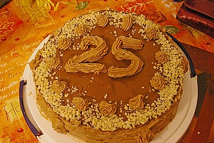 Festliche Schoko - Buttercreme - Torte 7