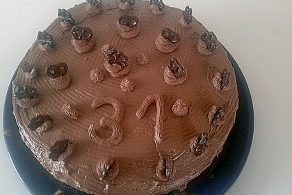 Festliche Schoko - Buttercreme - Torte 2