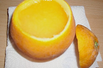 'Orangeneis in der Fruchthülle' a la Xainti 2