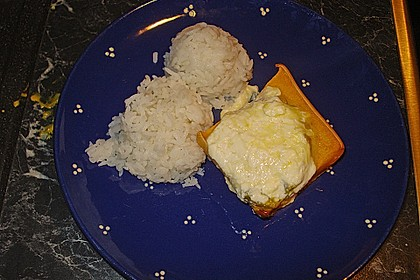 Baked Butternut mit Reis und Currygemüse 39