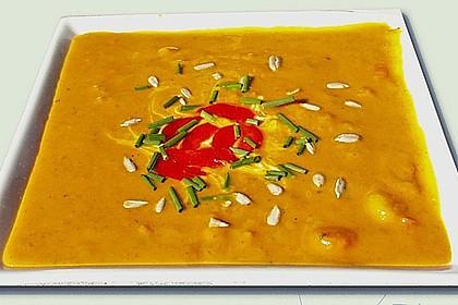 Curry-Kürbiscremesuppe à la Laura