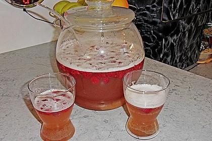 Himbeer - Weißbier - Bowle (Bild)