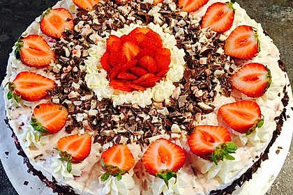 Yogurette-Torte 4