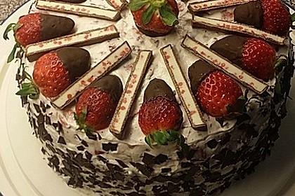 Yogurette-Torte 12