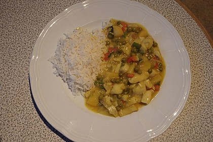 Fruchtiges Asia - Fisch - Curry 27
