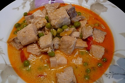 Fruchtiges Asia - Fisch - Curry 11