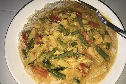 Fruchtiges Asia - Fisch - Curry (Bild)