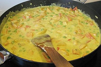 Fruchtiges Asia - Fisch - Curry 26