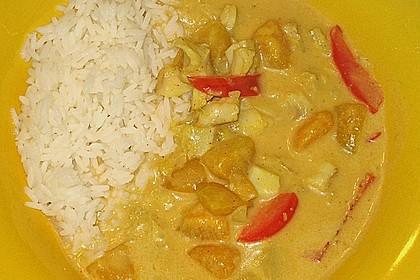 Fruchtiges Asia - Fisch - Curry 36