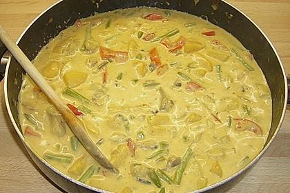 Fruchtiges Asia - Fisch - Curry 34