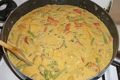 Fruchtiges Asia - Fisch - Curry 32
