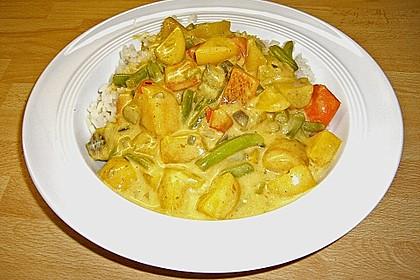 Fruchtiges Asia - Fisch - Curry 21