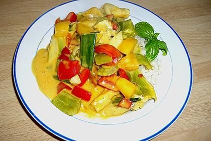 Fruchtiges Asia - Fisch - Curry 7