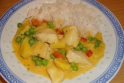 Fruchtiges Asia - Fisch - Curry 5